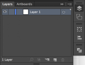 Illustrator Layers Palette